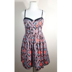 Band of Gypsies Geo Patterned Dress